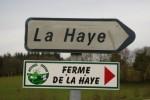 panneau direction la Haye